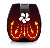 Elektrische Luft-tiefer Bratpfanne LCD-Bildschirmanzeige-Timer-Temperaturregler