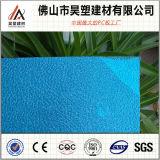 Hoja plástica grabada policarbonato caliente de la PC de la hoja de la venta para el material para techos