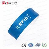 Wristband impermeable de Tyvek RFID para el parque del agua