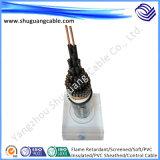 Пламя - retardant XLPE изолировал обшитый PVC защищаемый кабель электричества преобразователя частоты