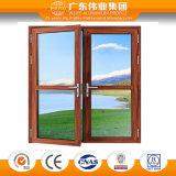 De houten Certificatie van BV van het Openslaand raam van het Aluminium van de Kleur