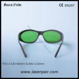 635nm, 808nm, 980nm óculos de protecção laser para laser vermelho & Laser de diodo de Laserpair
