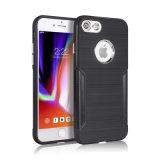 TPU Drahtziehen-Telefon-Kasten für iPhone 8 neue Faser des Kohlenstoff-8plus