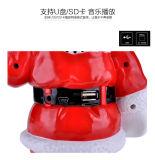 Аудиоплейер рождества диктора USB перезаряжаемые Bluetooth фабрики оптовый портативный двойной