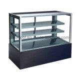Dispositivo di raffreddamento basso di marmo della visualizzazione del forno con la scaffalatura di vetro per le barre