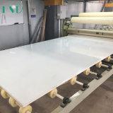 Lastra bianca pura della pietra del quarzo di più grande formato