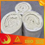 30mm-100mm thermische Wärmeisolierung-Material-Felsen-Wolle-Zudecke für großformatiges Rohr und Becken