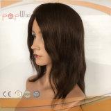 El silicón crea la peluca brasileña del pelo para requisitos particulares (pgp-l-0115)