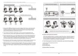 Rasha 24ПК*5W RGBA красочные DMX светодиод перемещения головки блока цилиндров дым машины этапе специальных эффектов обогреве заднего стекла