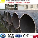 Tubo soldado longitudinal Estrutura mecânica do tubo de aço soldado