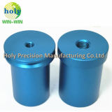 Nette anodisierte drehenteile des Aluminium-6061-T7 mit der CNC maschinellen Bearbeitung