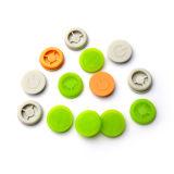Colorido/apagar/Botões de borracha branca e Teclado Siliconer