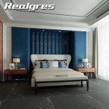 Azulejos de mármol negros de cerámica finos esmaltados rústicos de la decoración 1800X900m m de la pared y del suelo