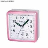 Pratique des horloges d'alarme électronique carré en acier