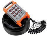 Input-output Contactdoos XLR 12channels van de Kabel van de Slang van de Doos van het stadium Multicore