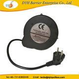 Удлинитель кабеля питания складной мотовила стандарт ЕС контактный штекерный разъем