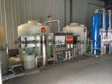 スキッドによって取付けられる3000lph産業水処理システム