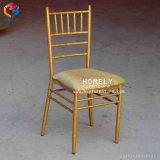 عرس وقت فراغ بيع بالجملة نوع ذهب حديد معدن [تيفّني] كرسي تثبيت