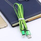 Cavo di dati cambiante del USB di colore