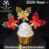 2020 Nueva decoración de pastel de Navidad de alta calidad