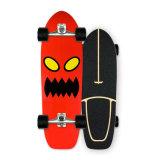 Complete beginners Longboard Skate Boards u-vormig dek Anti-Slip Sand Maple Meerlaags Wood Dancing Longboard Skateboard