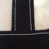Borsa 100% di vendita al dettaglio di tela di canapa in cotone