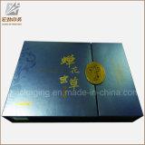 Kraft ondulado plegable de cartón de papel de regalo de lujo caja de cajas de embalar con logo Imprimir