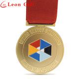 Настраиваемые цинкового сплава старинной золотой медали конкуренции металла