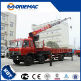 10 Tonnen-teleskopischer Hochkonjunktur-LKW eingehangener Kran Sq10sk3q für Verkauf