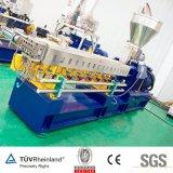 색깔 섬유 일반적인 플라스틱 Masterbatch를 위한 플라스틱 과립 또는 펠릿 쌍둥이 나사 압출기 기계