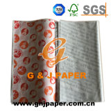 Gute Qualitätsfirma-Firmenzeichen gedrucktes Butterbrotpapier für Verkauf