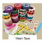 El material adhesivo Washi Tape Washi cinta de enmascarar