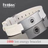 Bracelet en gros d'énergie de Hottime avec de l'hématite en cristal pour la santé (20011)