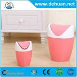 Desktop Mini Table Trash / Dustbin Caixotes de lixo de plástico Lixeira