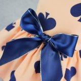 Chemises Sundress de gilet de robe de crabot de vêtements d'animal familier de bande de bonbon