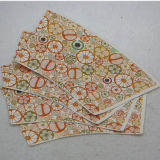 Beau papier estampé par coutume de cuvette de papier de qualité