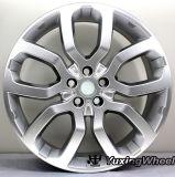 Roues en aluminium de 22 pouces pour Land Rover