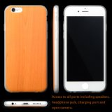 Custom Print Wood Design Plástico TPU Estojo para celular com capa traseira para iPhone 6 S Plus, para Apple iPhone 6 Case