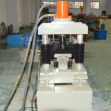 El PLC Panasonic galvanizó el rodillo del poste del enrejado del metal del viñedo que formaba la máquina
