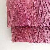 Tessuto 100% della piega del Crepe del poliestere per il vestito