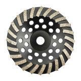 Алмазные резцы колеса чашки Gushi Turbo для молоть