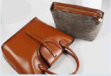 Borsa di cuoio per il sacco per cadaveri trasversale delle donne (BDMC051)