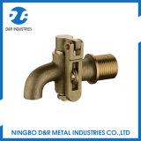 Alta qualidade de bronze Lockable forjada do Bibcock