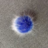 卸売価格の曇らされたのどのキツネの毛皮の球の偽造品の毛皮のポンポン