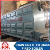 Caldeira de biomassa de madeira com cana corrugada