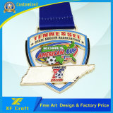 OEMのあらゆる作業(XF-MD20)のための卸し売りカスタマイズされた金属の記念品の円形浮彫り
