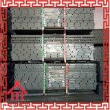 O cofragma da laje pode ser reutilizado mais de 300 vezes
