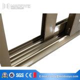 Het Dubbele Glijdende Venster van uitstekende kwaliteit van het Frame van het Aluminium van de Isolatie van het Glas thermaal