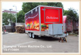 Acoplado móvil Kebab Van de la cocina de Ys-Fv390h