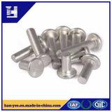 Rebite contínuo principal liso de alumínio por atacado de China